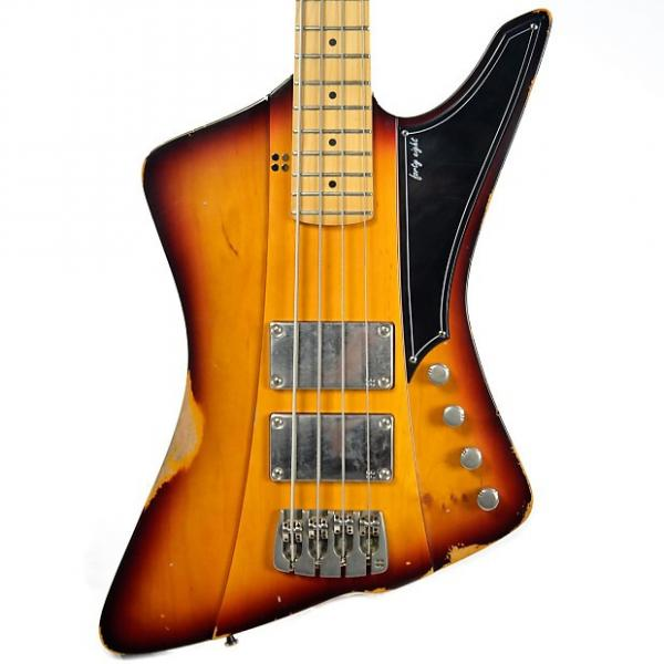 Custom Sandberg Forty Eight Bass 3 Tone Sunburst Finish Hardcore Reserve Aged (Serial #27556) #1 image