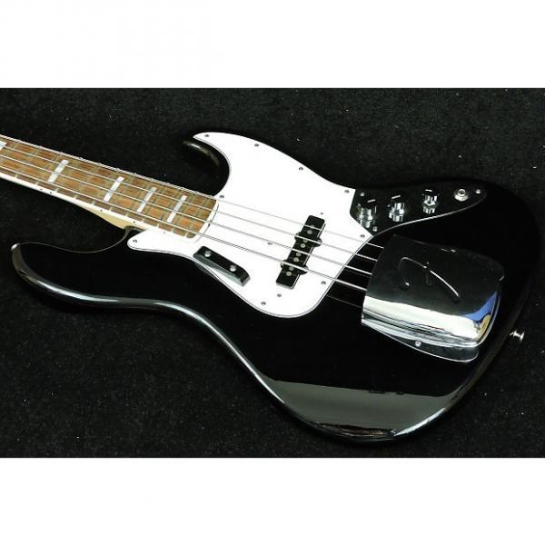 Custom Fender American Vintage '74 Jazz Bass Black #1 image