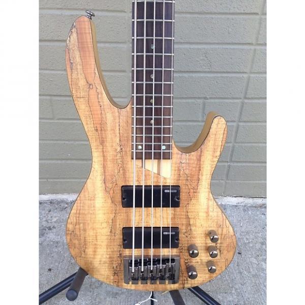 Custom ESP LTD b 205sm 2016 Spalted Maple #1 image
