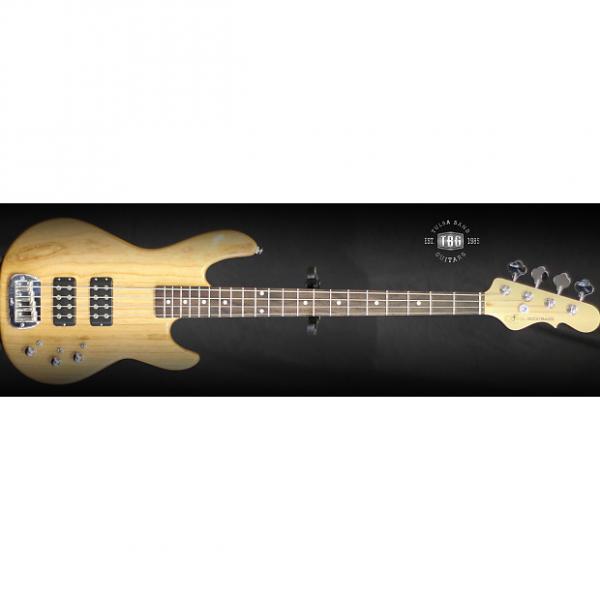 Custom G&L L2000 Tribute Series Bass 2016 Natural Finish #1 image
