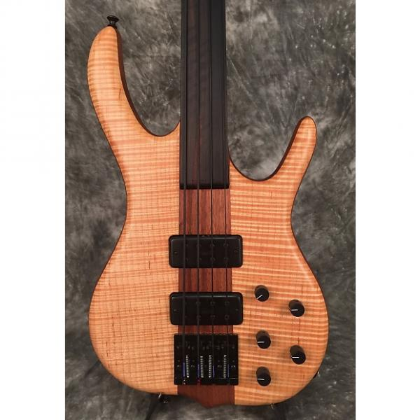 Custom 2015 Ken Smith BSR4M-P Fretless w/Case #1 image