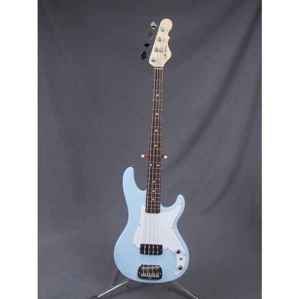 Custom G&L Kiloton Bass  Sonic Blue #1 image