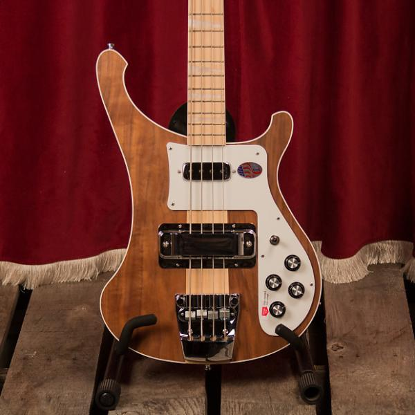 Custom Rickenbacker 4003 Walnut 2015 Natural #1 image