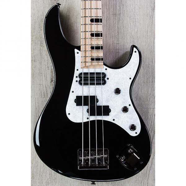 Custom Yamaha Attitude Limited III Billy Sheehan Signature Bass, Black, Maple Board, DiMarzio Pickup #1 image