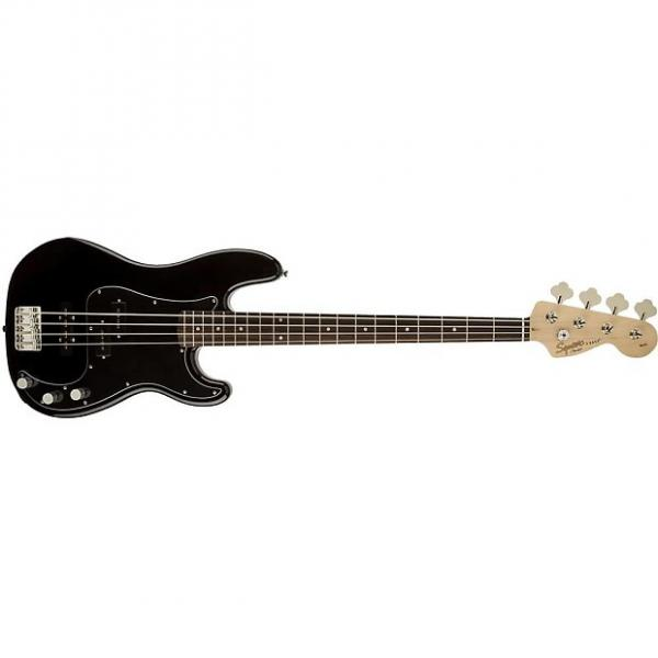 Custom Squier Affinity Series Precision Bass PJ Electric Bass - Olympic White #1 image