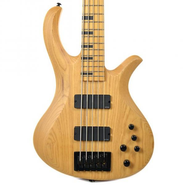 Custom Schecter Riot Session 5 String Aged Natural Satin #1 image