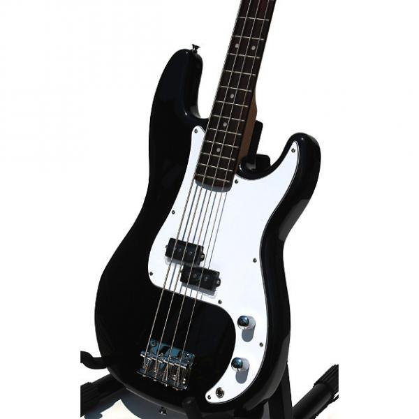 Custom Electric Bass Guitar with Full Package for beginners Black iMEB260 #1 image