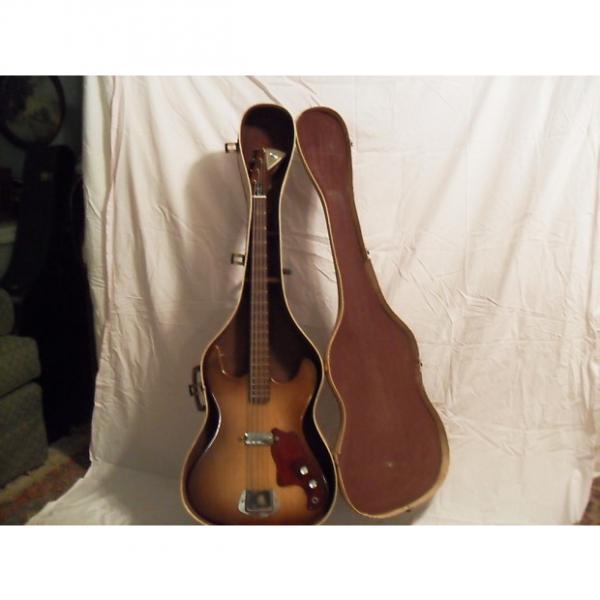 Custom Kay 5935 Bass 1964 olive burst #1 image