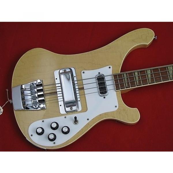 Custom Rickenbacker 4001  1979 Maple Glo #1 image