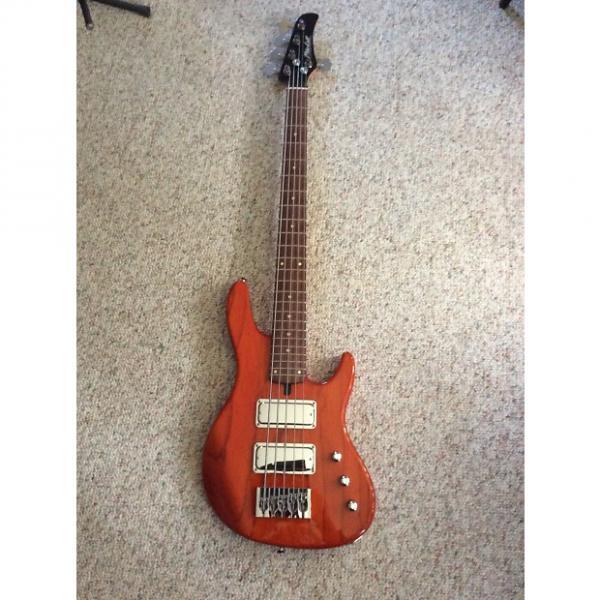 Custom Mike lull JT5  2015 Trans Orange bass #1 image