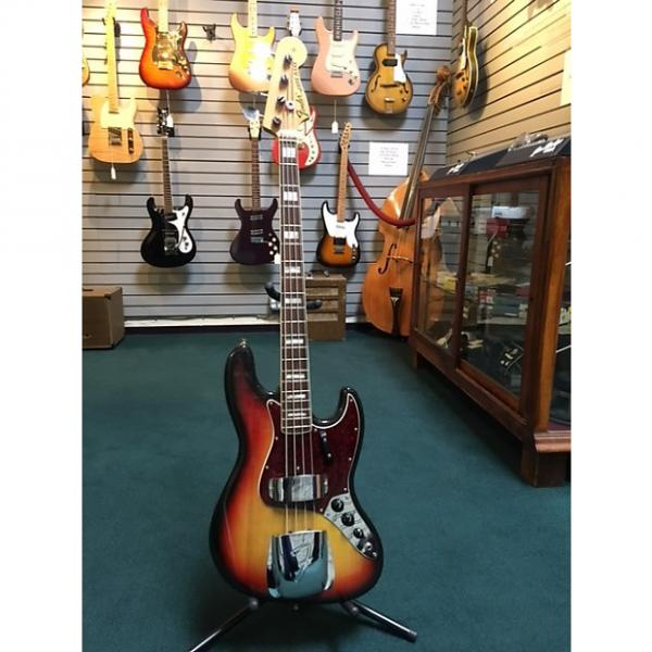 Custom Fender Jazz Bass 72/73  Traditional 3 Tone Sunburst #1 image