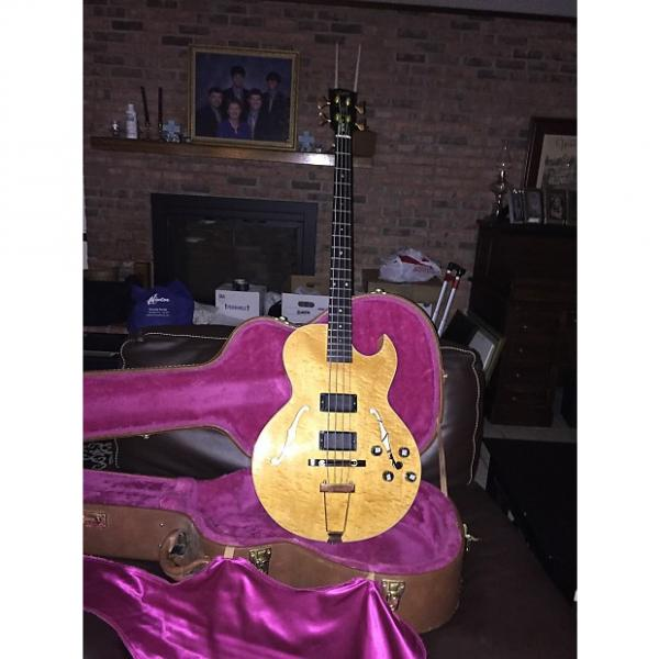 Custom Gibson EB-750 1991 Natural #1 image