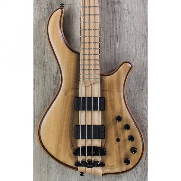 Custom Mayones Slogan Classic 4 Bass, Myrtlewood Top, Maple Board, Bartolini Pickups, Aguilar Preamp #1 image