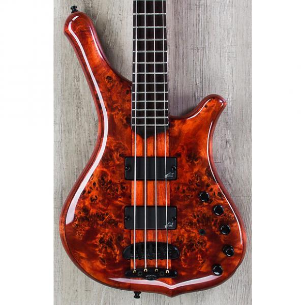 Custom Mayones Comodous Classic 4 Bass, Liquid Red, Aguilar Electronics #1 image