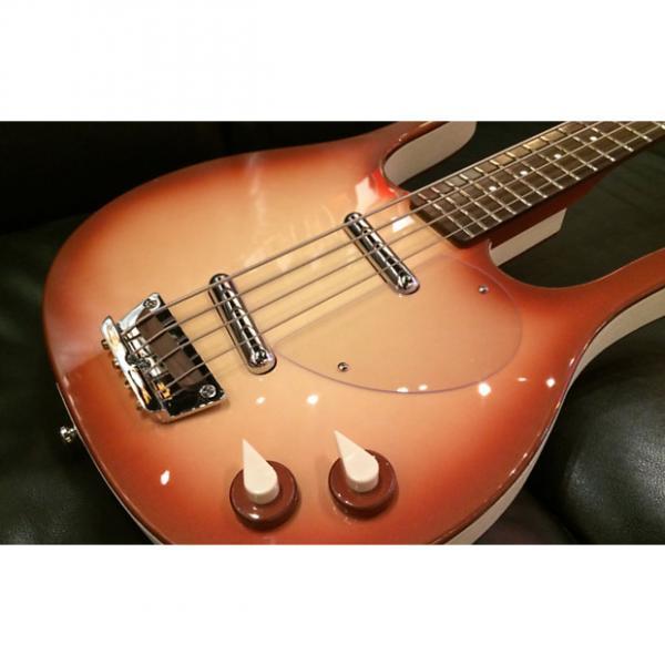 Custom Danelectro '58 Longhorn Bass 2016 Copperburst #1 image