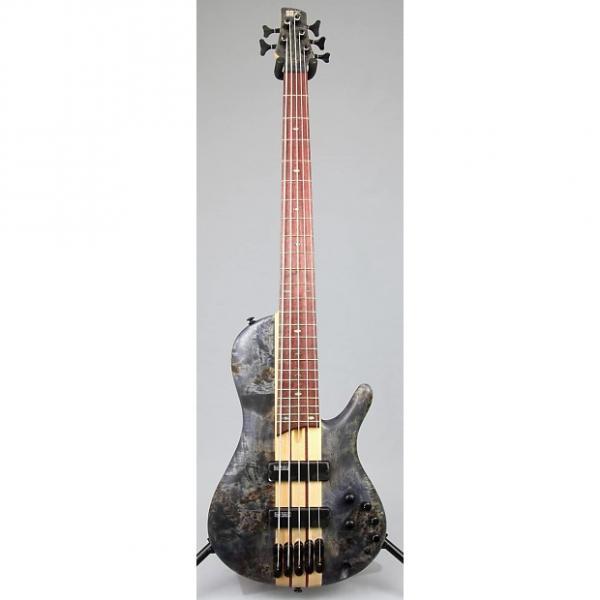 Custom Store Demo | Ibanez SRSC805 5-String Workshop Series Bass Guitar - Deep Twilight Flat #1 image