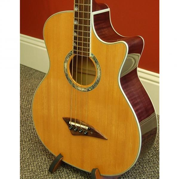 Custom Dean Exotica RAD Acoustic Electric Bass 2003 #1 image