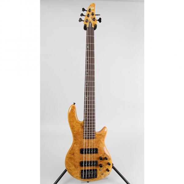 Custom LTD H-1005SE 5-String Bass Guitar #1 image