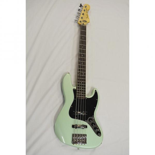 Custom Fender Deluxe Active Jazz Bass V W/Bag #1 image