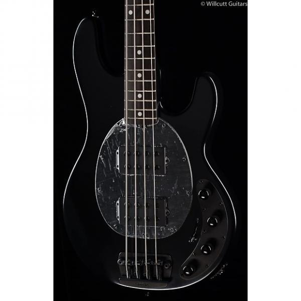 Custom Ernie Ball Music Man StingRay 4 HH Stealth Black (261) #1 image