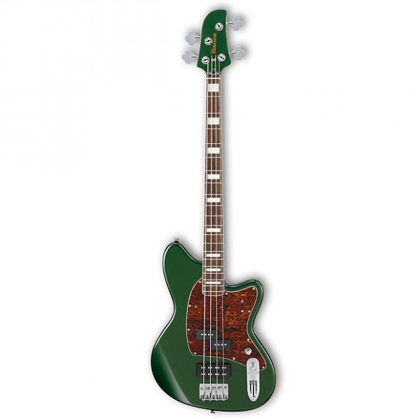 Custom Ibanez TMB300 MFT Metallic Forest 4-String Talman Bass Guitar #1 image