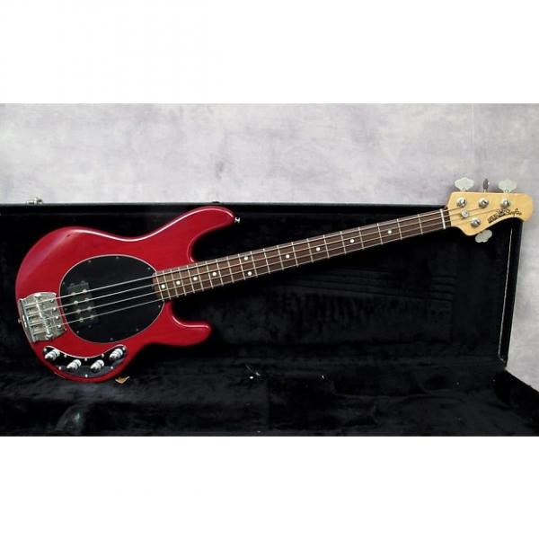 Custom 1995 Musicman Stingray   Trans Red    Andy Baxter Bass & Guitars #1 image