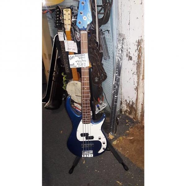 Custom Peavey  Milestone bass 2015 blue sparkle #1 image