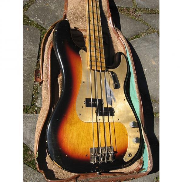 Custom Fender Precision Bass 1958 3 Tone Sunburst #1 image