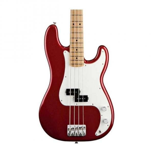 Custom Fender Standard Precision Bass, Candy Apple Red, Tinted Maple Neck #1 image