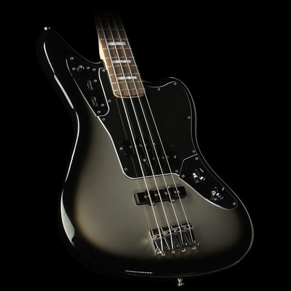 Custom Fender Troy Sanders Jaguar Electric Bass Guitar Silverburst #1 image