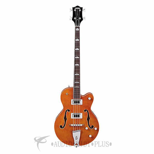 Custom Gretsch Guitars G5440LSB Electromatic HollowBody RW Fingerboard Bass Guitar Orange - 2518000512 #1 image
