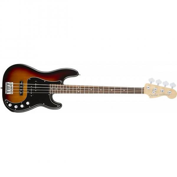 Custom Fender American Elite Precision Bass Guitar Rosewood 3-Tone Sunburst + Case #1 image