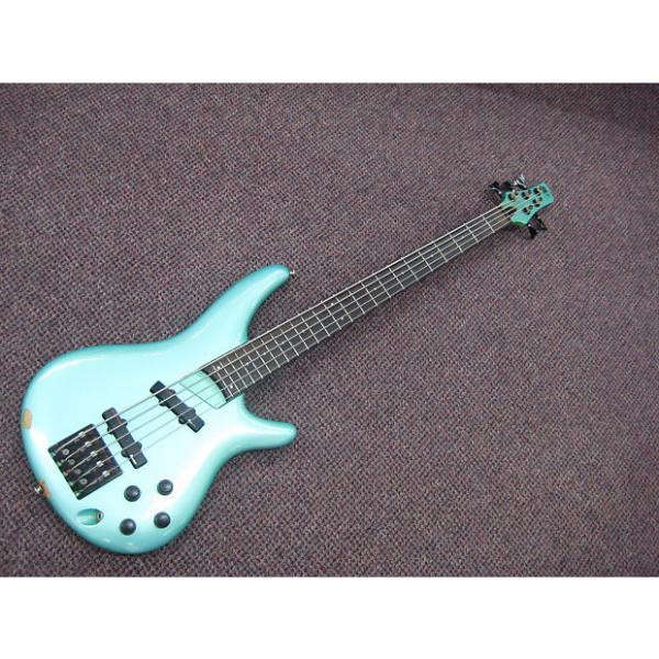 Custom Ibanez Sound Gear 5 String Bass Seafoam Green #1 image