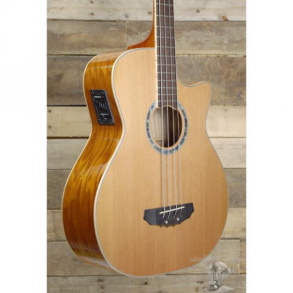 Custom Michael Kelly MKCC4N Club Custom 4 String Acoustic Electric Bass Guitar #1 image