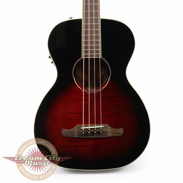 Custom Brand New Fender T-Bucket 300E Acoustic Bass in Trans Cherry Burst #1 image