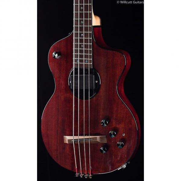 Custom Rick Turner Model One Bass Mahogany (564) #1 image