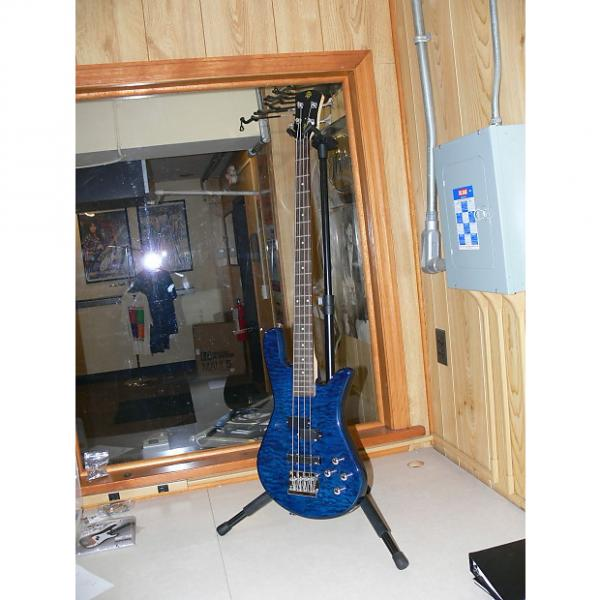 Custom New Spector Legend 4 Standard Blue Stain #1 image