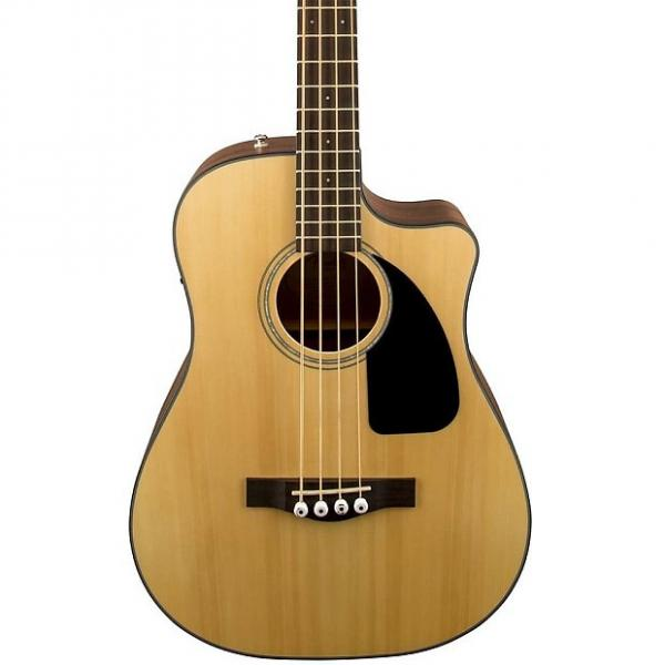 Custom Fender Cb-100Ce Acoustic/Electric Bass, Natural #1 image