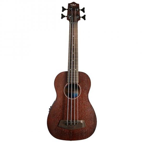 Custom Kala Rumbler U-Bass Fretless W/ Bag, Satin Brown #1 image