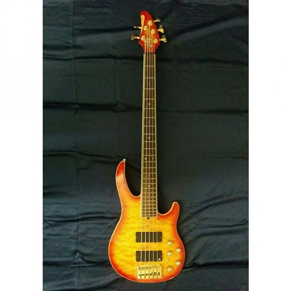 Custom Brian Moore i5 5-String Bass Guitar #1 image