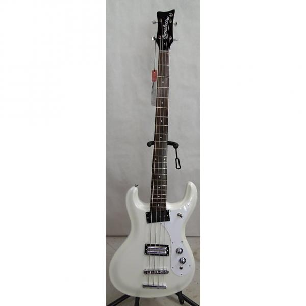 Custom Danelectro '64 Electric Bass -White Pearl w/ free hard case #1 image