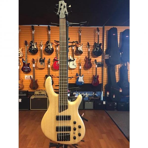 Custom Cort B5 Plus AS Active / Passive 5 String Bass Guitar #1 image