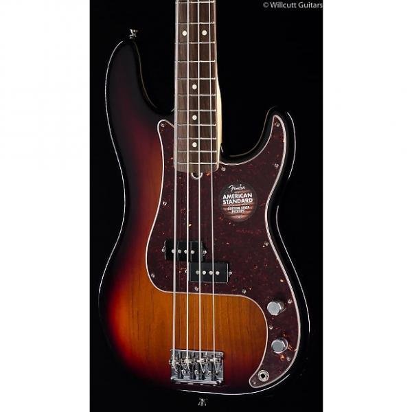 Custom Fender American Standard Precision Bass® 3-Tone Sunburst (667) #1 image
