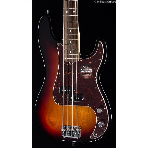 Custom Fender American Standard Precision Bass® 3-Tone Sunburst (017) #1 image