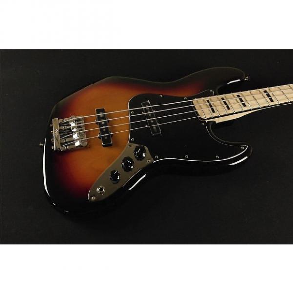 Custom Fender Geddy Lee Jazz Bass Maple Fingerboard 3-Color Sunburst 0147702300 (626) #1 image