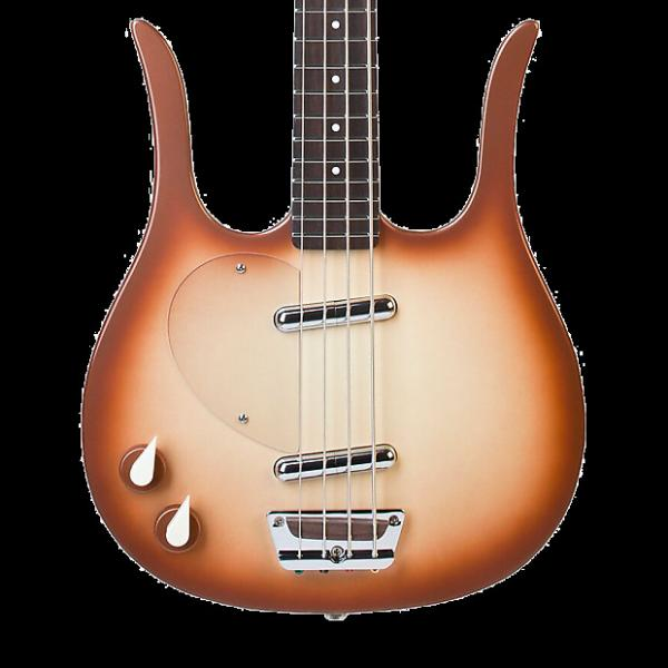 Custom Danelectro Longhorn Bass Left Handed - Copperburst #1 image
