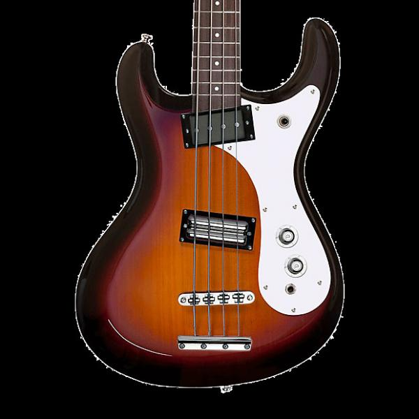 Custom Danelectro '64 Electric Bass - 3 Tone Sunburst #1 image