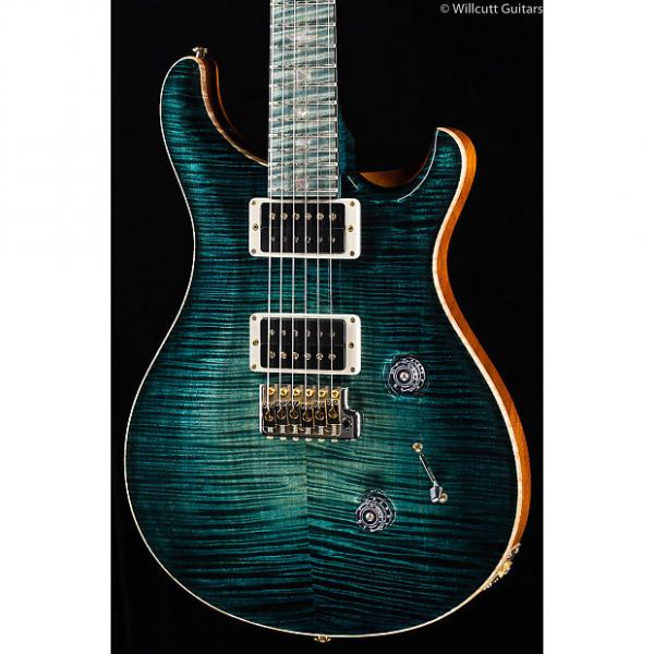 Custom PRS Private Stock 6329 Custom 24 Stained Maple Fretboard Slate Glow #1 image