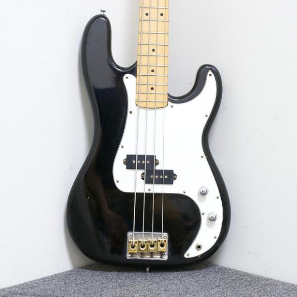 Custom Grand Prix H830B P-Bass Bass Guitar Black / Red #1 image