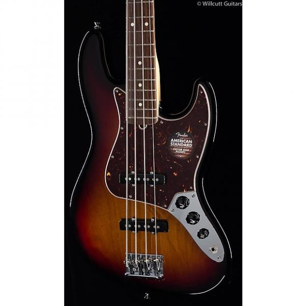 Custom Fender American Standard Jazz Bass® 3-Tone Sunburst, Rosewood (435) #1 image